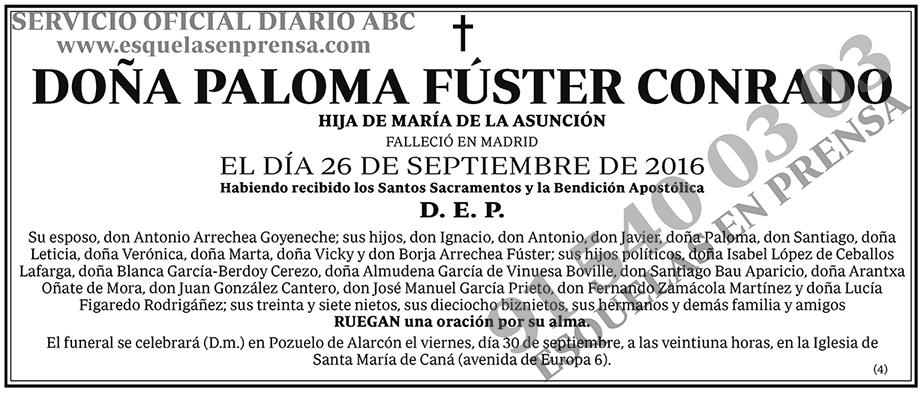 Paloma Fúster Conrado
